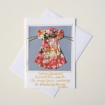 024WD_Wedding wishes from parents to daughter Wedding day card for bride and groom Wedding wishes to a friend Custom card for marriage